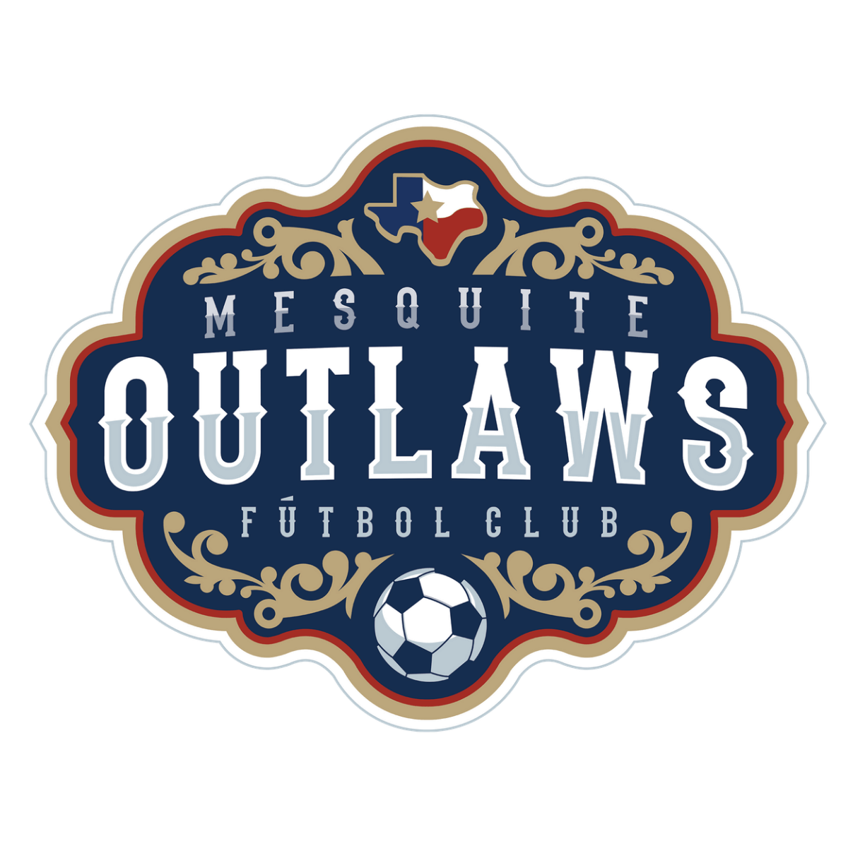 Mesquite Outlaws Logo