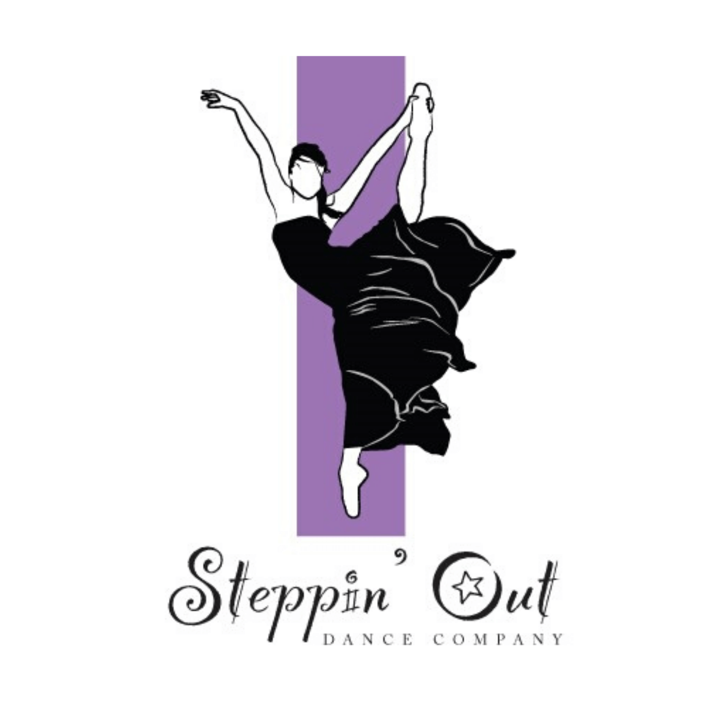 Steppin Out Dance Company Logo